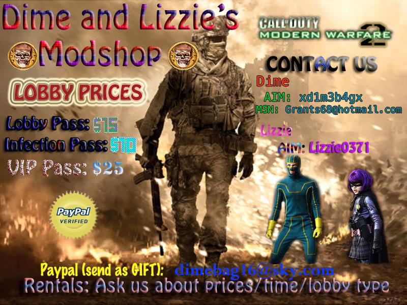 MW2 Modded Lobbies - Call Of Duty Ultimate Modded Lobby Site